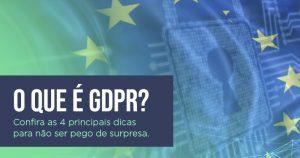 O que é GDPR?