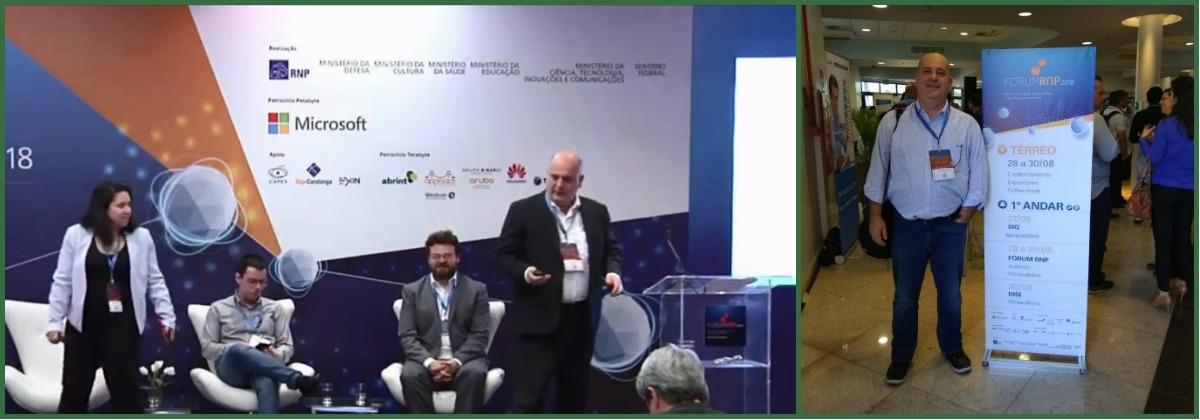 Mauro Souza Vice-Presidente da E-TRUST no Fórum RNP 2018