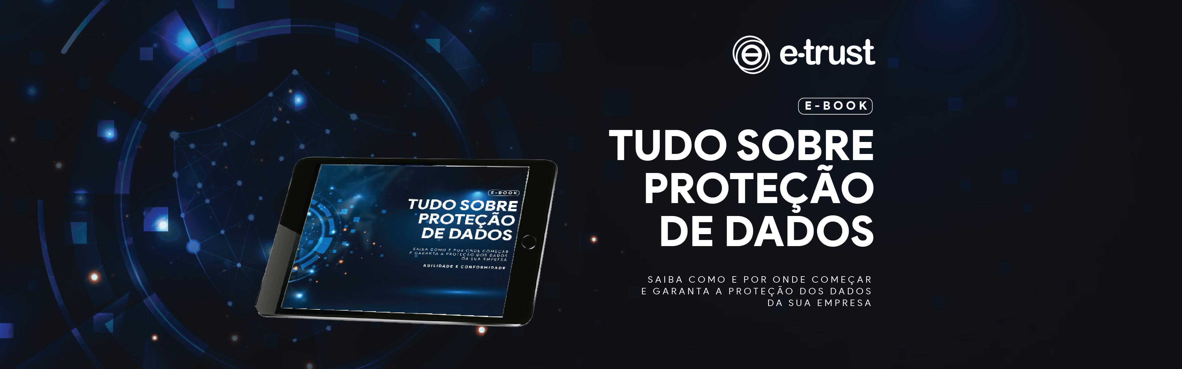 banenr ebook Tudo sobre proteção de dados